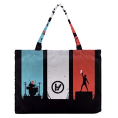 Twenty One 21 Pilots Medium Zipper Tote Bag
