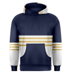 Dress Up Blue And Gold Men s Pullover Hoodie