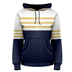 Dress Up Blue And Gold Women s Pullover Hoodie