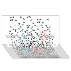 Twenty One Pilots Birds Engaged 3d Greeting Card (8x4)