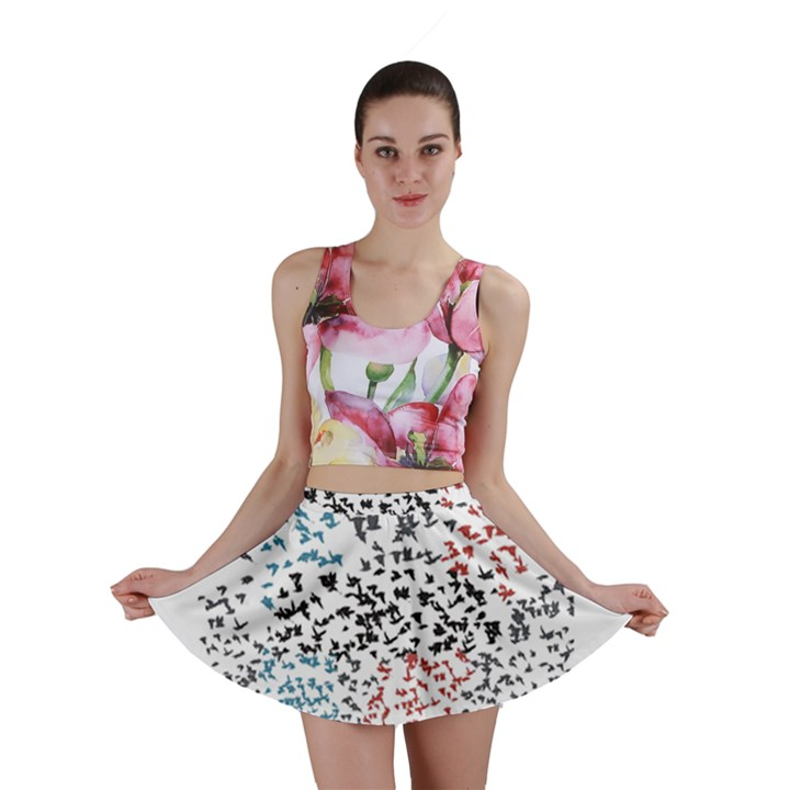 Twenty One Pilots Birds Mini Skirt