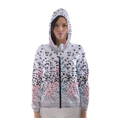 Twenty One Pilots Birds Hooded Wind Breaker (Women)