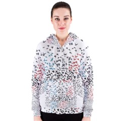 Twenty One Pilots Birds Women s Zipper Hoodie