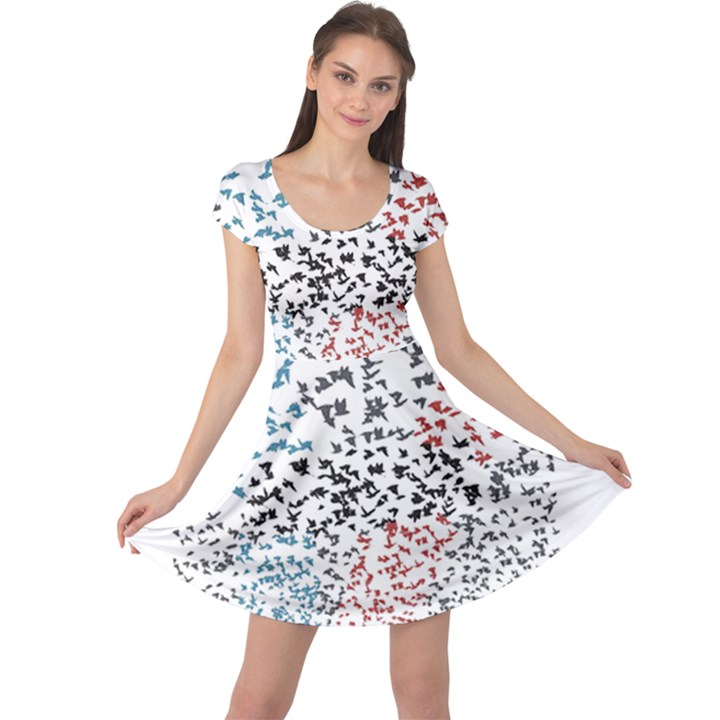 Twenty One Pilots Birds Cap Sleeve Dresses