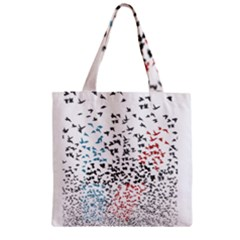 Twenty One Pilots Birds Zipper Grocery Tote Bag