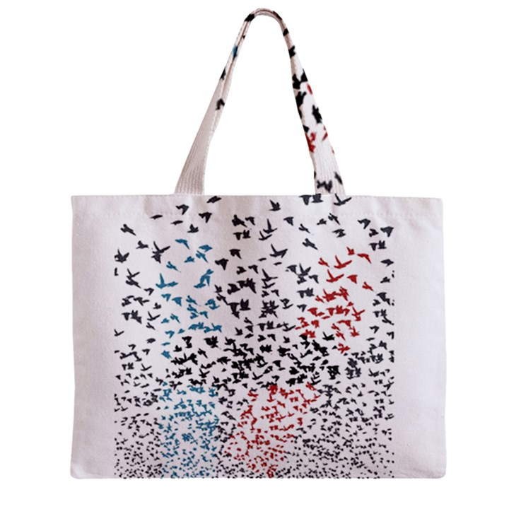 Twenty One Pilots Birds Zipper Mini Tote Bag