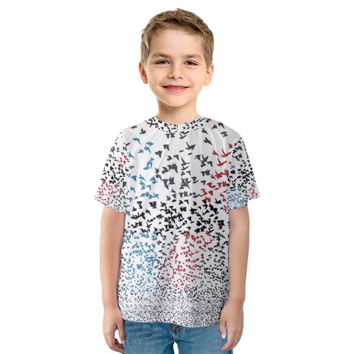 Twenty One Pilots Birds Kids  Sport Mesh Tee