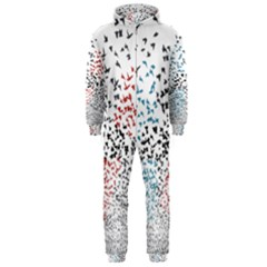 Twenty One Pilots Birds Hooded Jumpsuit (men)