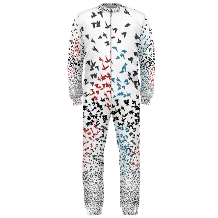Twenty One Pilots Birds OnePiece Jumpsuit (Men)