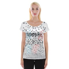 Twenty One Pilots Birds Women s Cap Sleeve Top