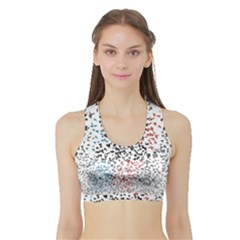 Twenty One Pilots Birds Sports Bra with Border