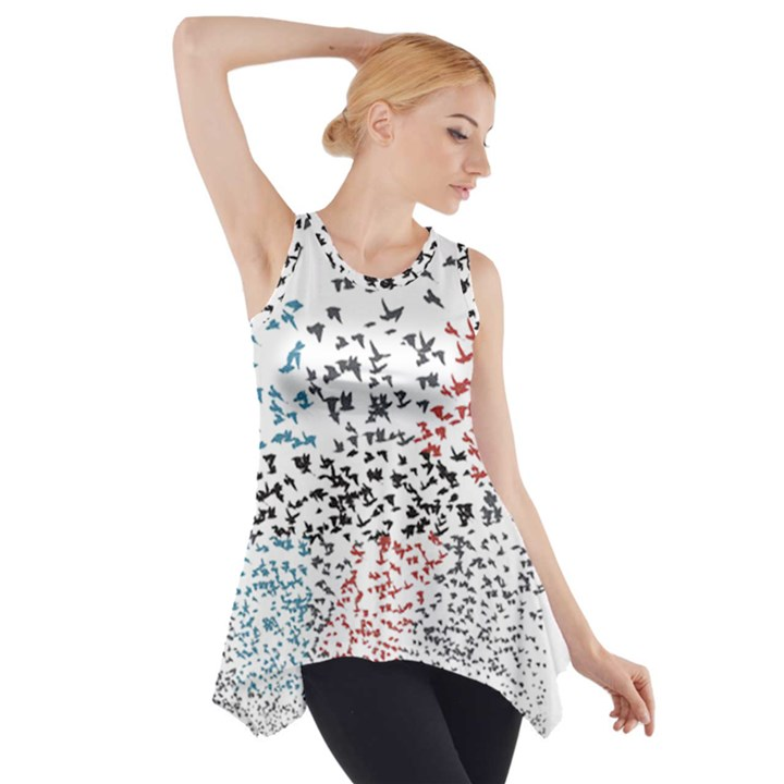 Twenty One Pilots Birds Side Drop Tank Tunic
