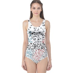 Twenty One Pilots Birds One Piece Swimsuit