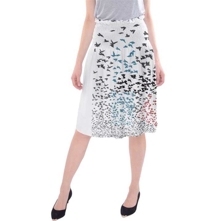 Twenty One Pilots Birds Midi Beach Skirt