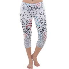 Twenty One Pilots Birds Capri Yoga Leggings