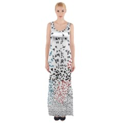 Twenty One Pilots Birds Maxi Thigh Split Dress