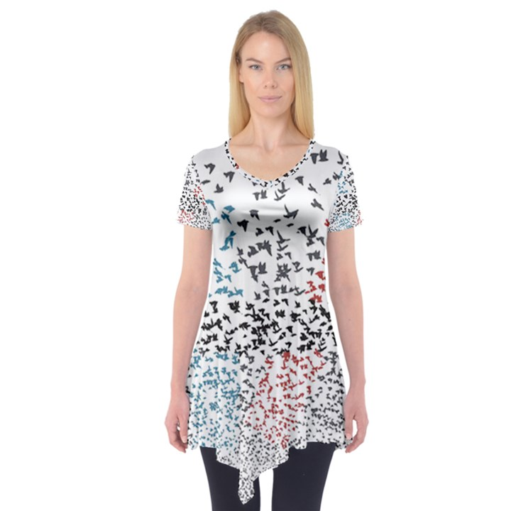 Twenty One Pilots Birds Short Sleeve Tunic
