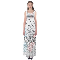 Twenty One Pilots Birds Empire Waist Maxi Dress