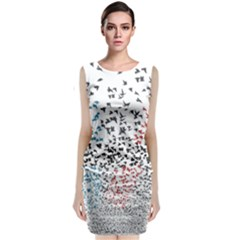 Twenty One Pilots Birds Classic Sleeveless Midi Dress