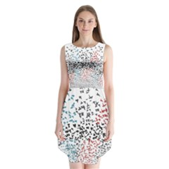 Twenty One Pilots Birds Sleeveless Chiffon Dress