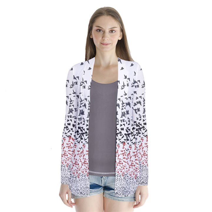 Twenty One Pilots Birds Drape Collar Cardigan