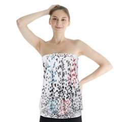 Twenty One Pilots Birds Strapless Top