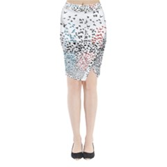 Twenty One Pilots Birds Midi Wrap Pencil Skirt