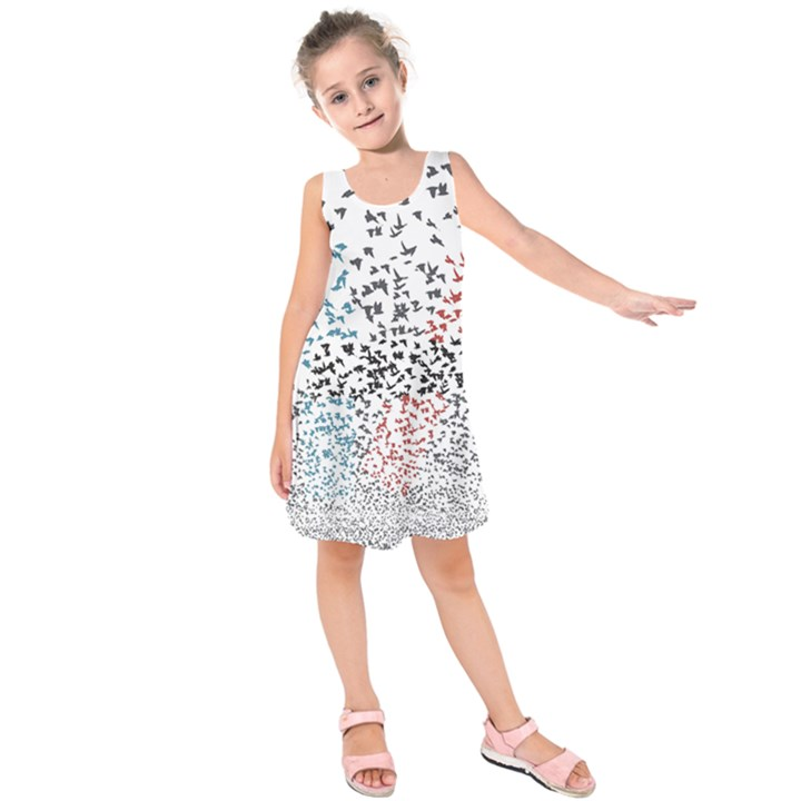 Twenty One Pilots Birds Kids  Sleeveless Dress