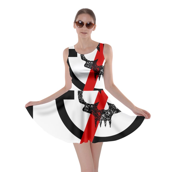 Twenty One Pilots Skull Skater Dress