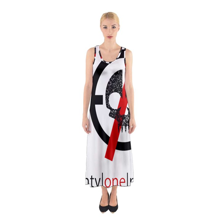 Twenty One Pilots Skull Sleeveless Maxi Dress