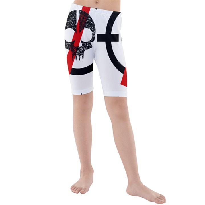 Twenty One Pilots Skull Kids  Mid Length Swim Shorts