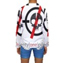 Twenty One Pilots Skull Kids  Long Sleeve Swimwear View2