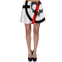 Twenty One Pilots Skull Skater Skirt