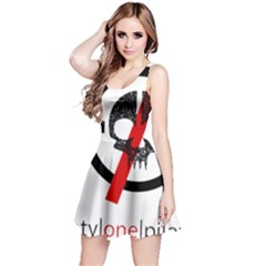 Twenty One Pilots Skull Reversible Sleeveless Dress