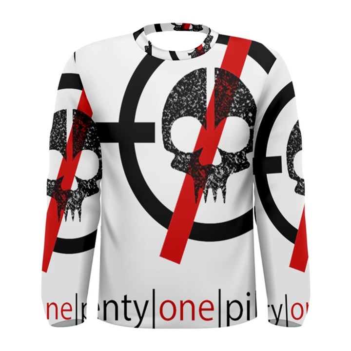 Twenty One Pilots Skull Men s Long Sleeve Tee