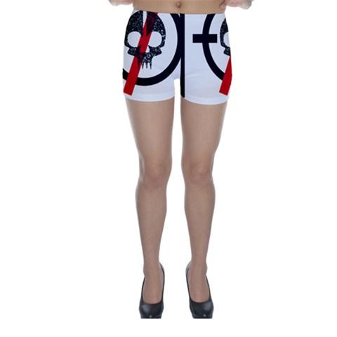 Twenty One Pilots Skull Skinny Shorts