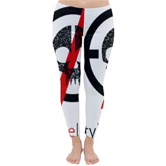Twenty One Pilots Skull Winter Leggings
