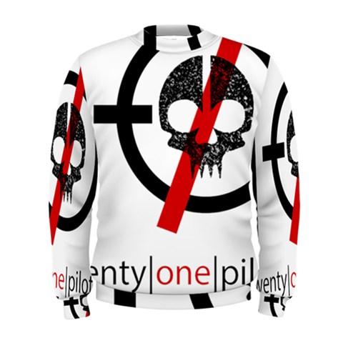 Twenty One Pilots Skull Men s Sweatshirt