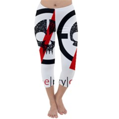 Twenty One Pilots Skull Capri Winter Leggings