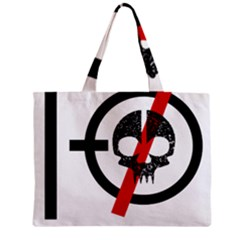 Twenty One Pilots Skull Zipper Mini Tote Bag