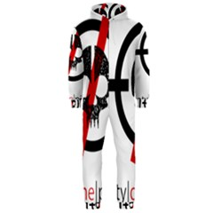Twenty One Pilots Skull Hooded Jumpsuit (Men)