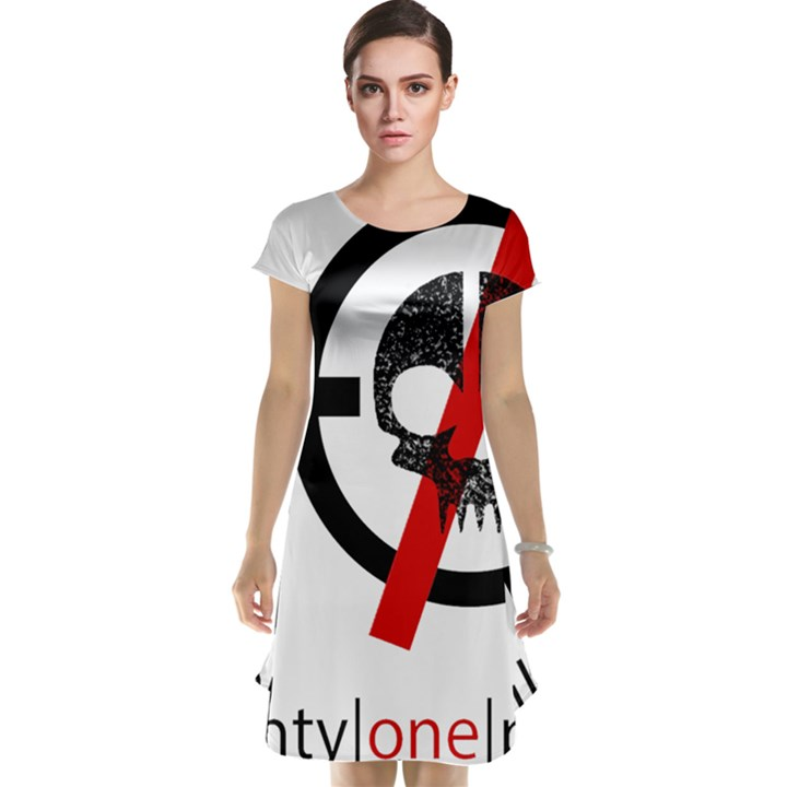 Twenty One Pilots Skull Cap Sleeve Nightdress