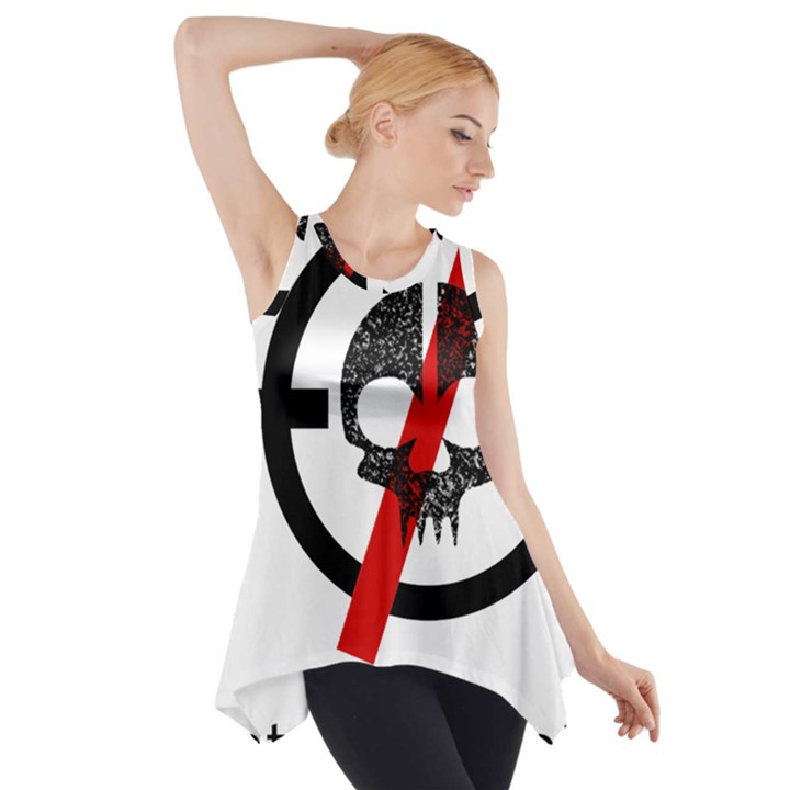 Twenty One Pilots Skull Side Drop Tank Tunic