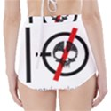 Twenty One Pilots Skull High-Waisted Bikini Bottoms View2