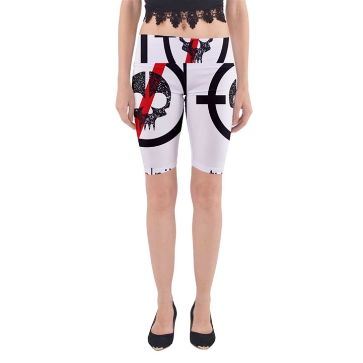 Twenty One Pilots Skull Yoga Cropped Leggings