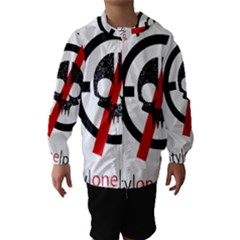 Twenty One Pilots Skull Hooded Wind Breaker (Kids)