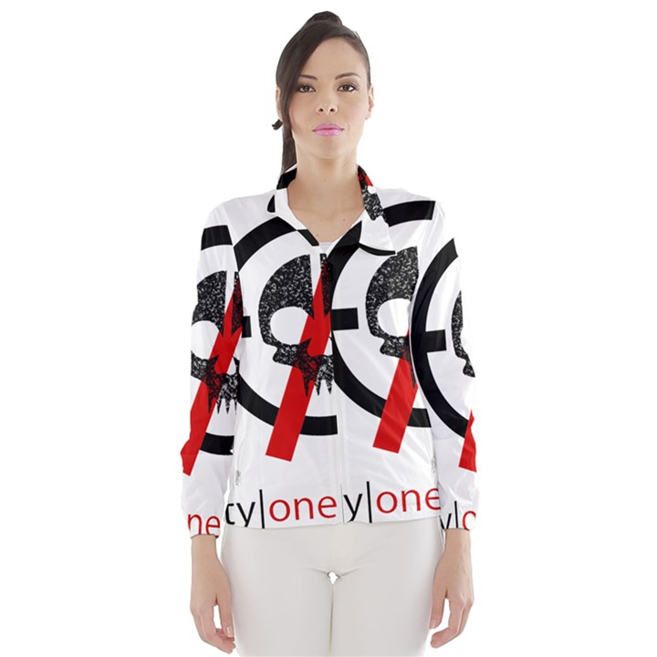 Twenty One Pilots Skull Wind Breaker (Women)