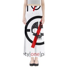 Twenty One Pilots Skull Maxi Skirts