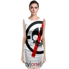 Twenty One Pilots Skull Classic Sleeveless Midi Dress