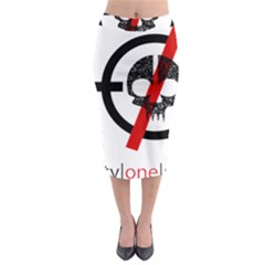 Twenty One Pilots Skull Midi Pencil Skirt